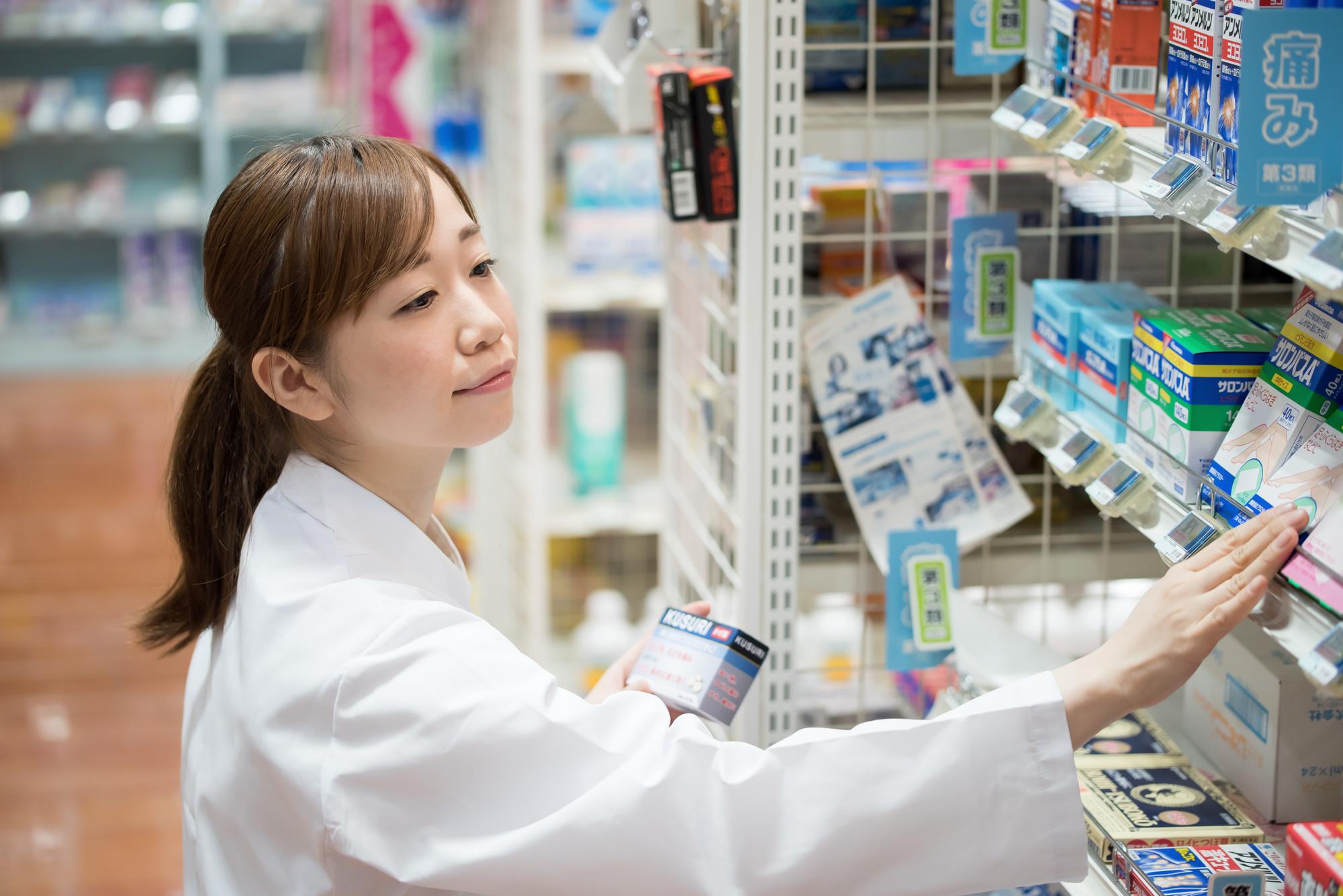 家庭用常備薬の売り場はこうしてつくる【ドラッグストアの売り場づくり】