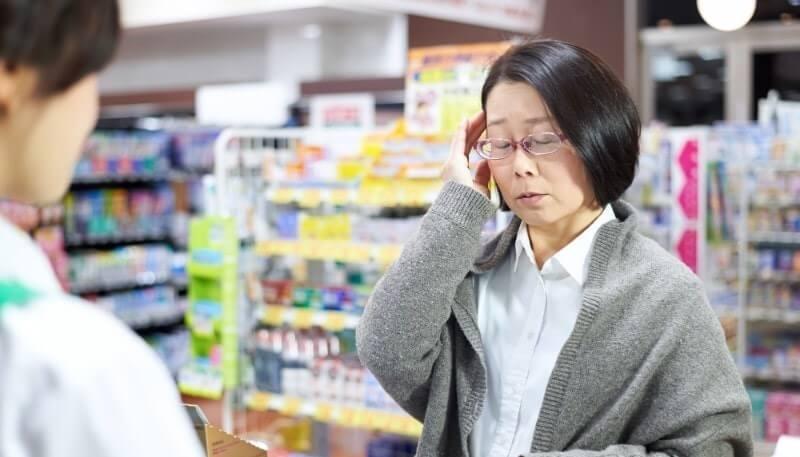 【対応例】頭痛で来店されたお客さまの場合